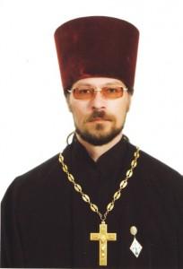и Виктор Мельников наст храма Георгия Победоносца Зеленолугский